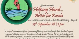 Helping Hand… Artists for Kerala