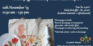 A Decoupage Workshop