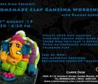 Homemade Clay Ganesha Workshop