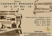 Basic Carpentry Workshop