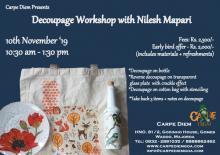 A Decoupage Workshop