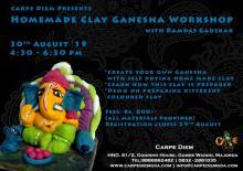 Homemade Clay Ganesha Workshop