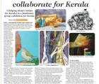 Artists in Goa collaborate for Kerala